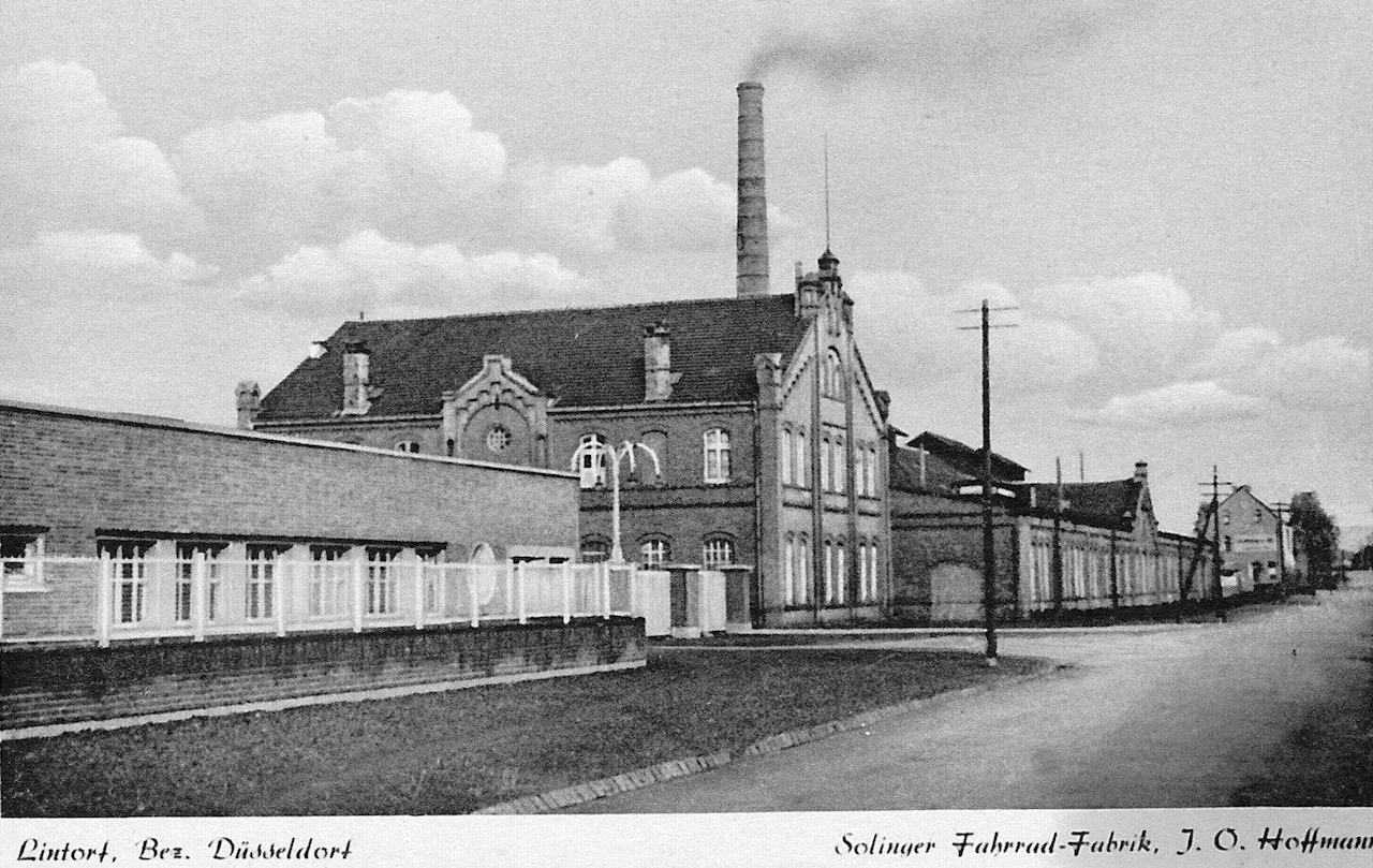 Postkarte von 1949/1950 (zu Verfügung gestellt von den Verein Lintorfer Heimatfreunde)