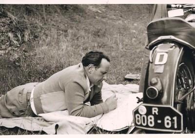 Rast beim Ausflug ca. 1956